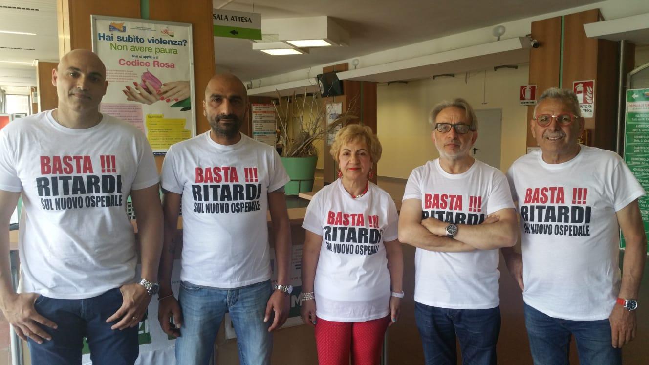 Vinciullo e due consiglieri iniziano lo sciopero della fame  per il nuovo ospedale di Siracusa