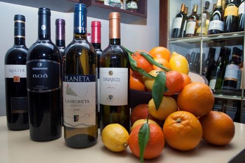 Kermesse internazionale del vino a Villa Itria a Viagrande