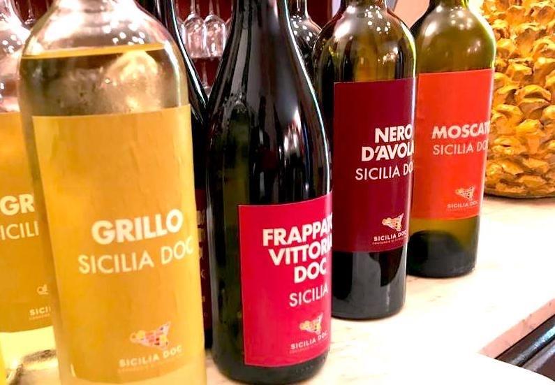 Vini doc di Sicilia, nel 2020 prodotte 90.594.310 bottiglie: calo del 5%