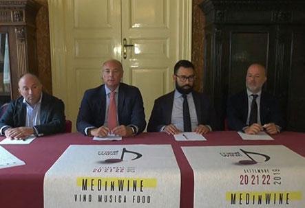 MedinWine a Palazzo Iacono a Vittoria: non solo vino ma anche buon cibo