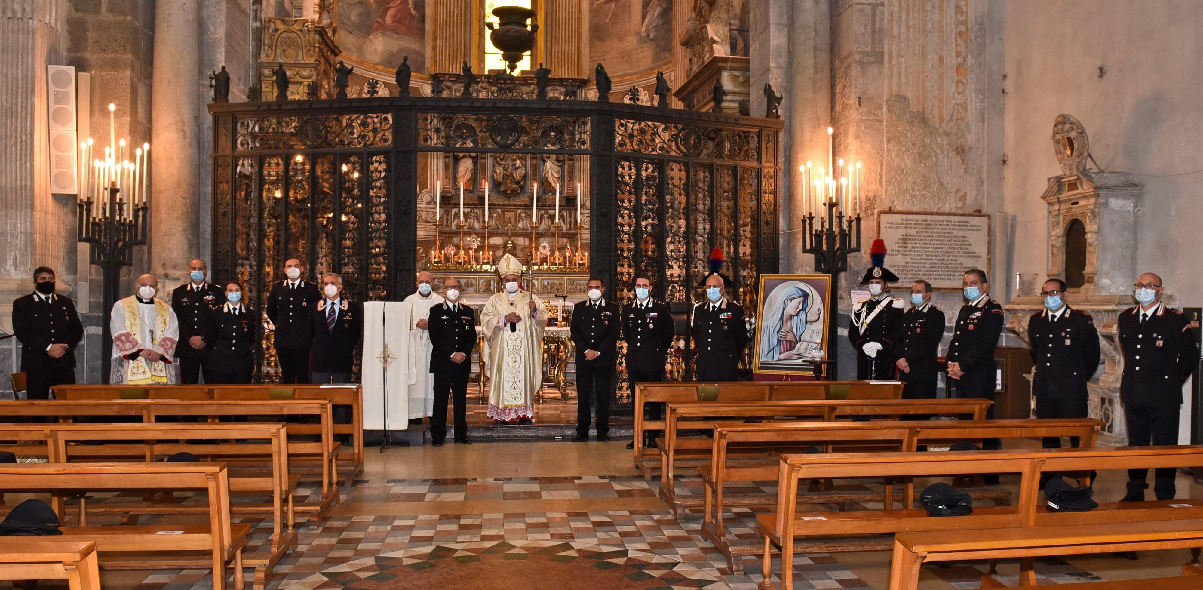 Sicilia, celebrata la Virgo Fidelis Patrona dell'Arma dei Carabinieri