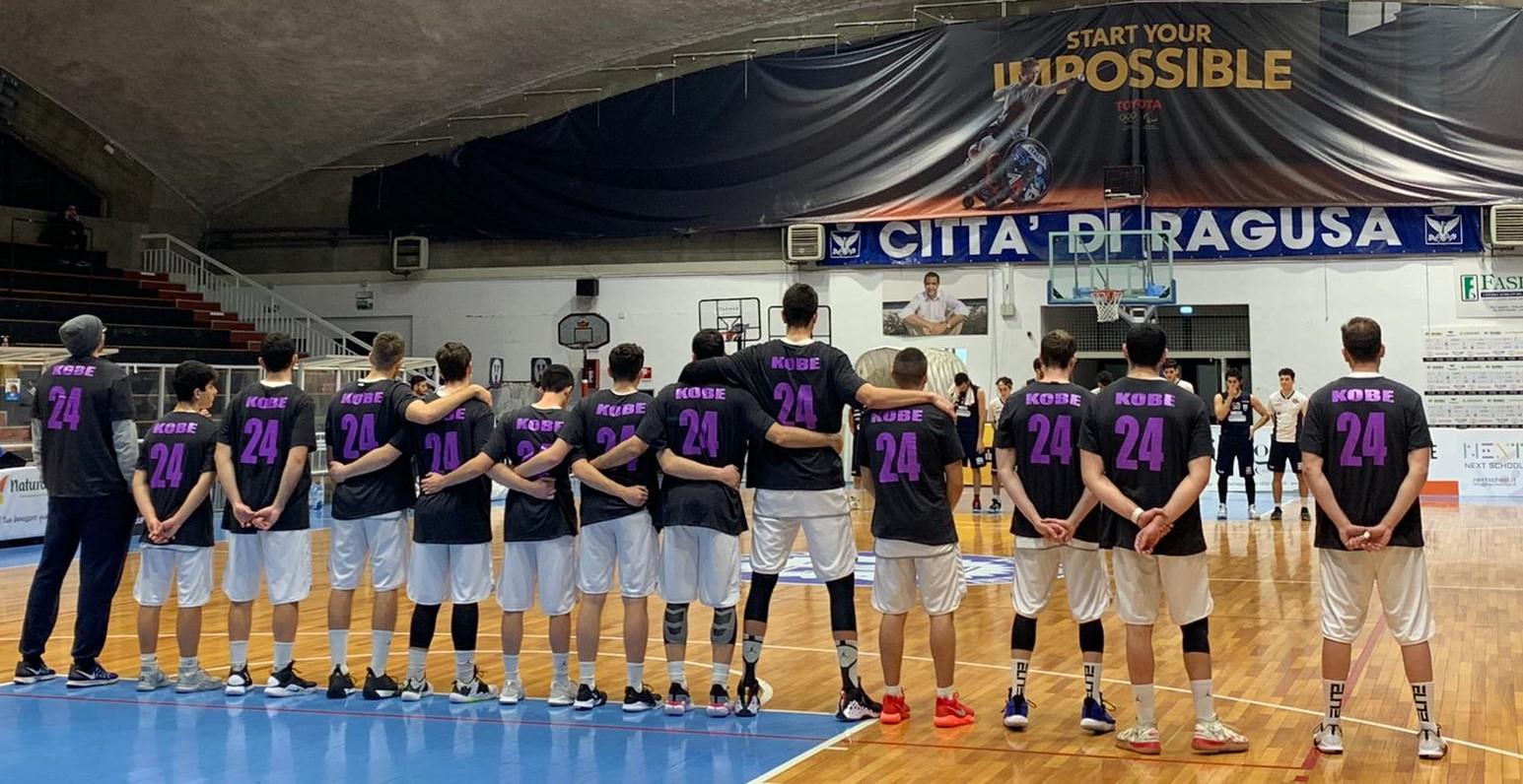 Basket, serie C Silver: la Virtus Ragusa batte il Gravina nel ricordo di Kobe Bryant