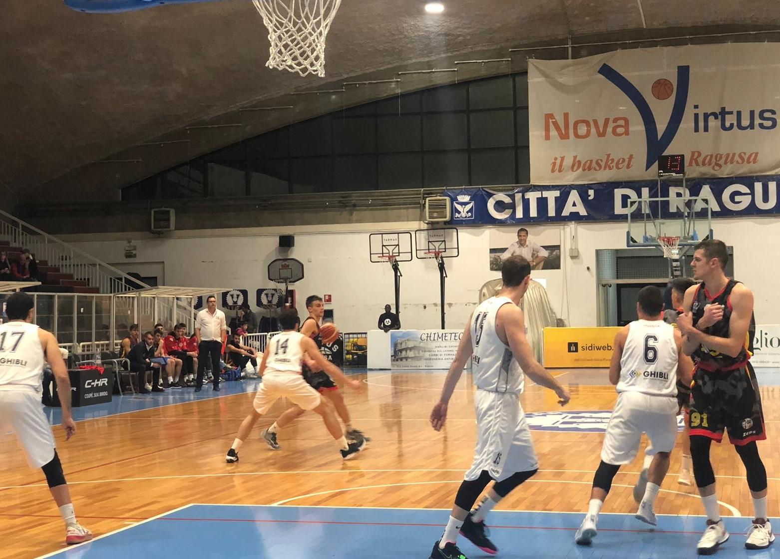 Basket, serie C silver: una buona Virtus Ragusa doma la resistenza dell'Orsa Barcellona