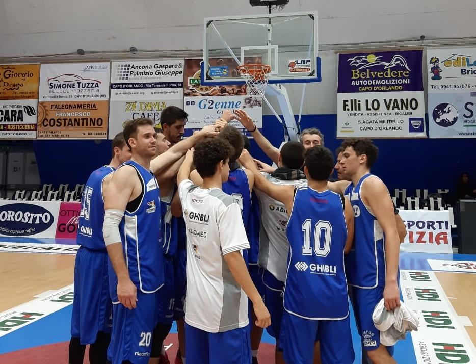 """Basket maschile, serie C silver: la Virtus Ragusa """"corsara"""" sul parquet  di Capo D'Orlando"""