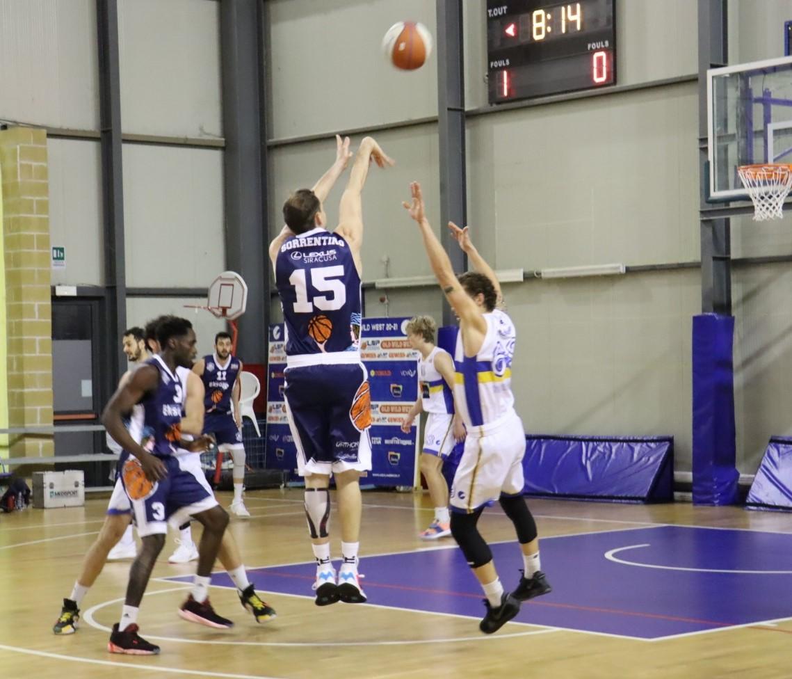 Basket, serie B: battuta d'arresto per la Virtus Ragusa sconfitta dalla Cestistica Torrenovese