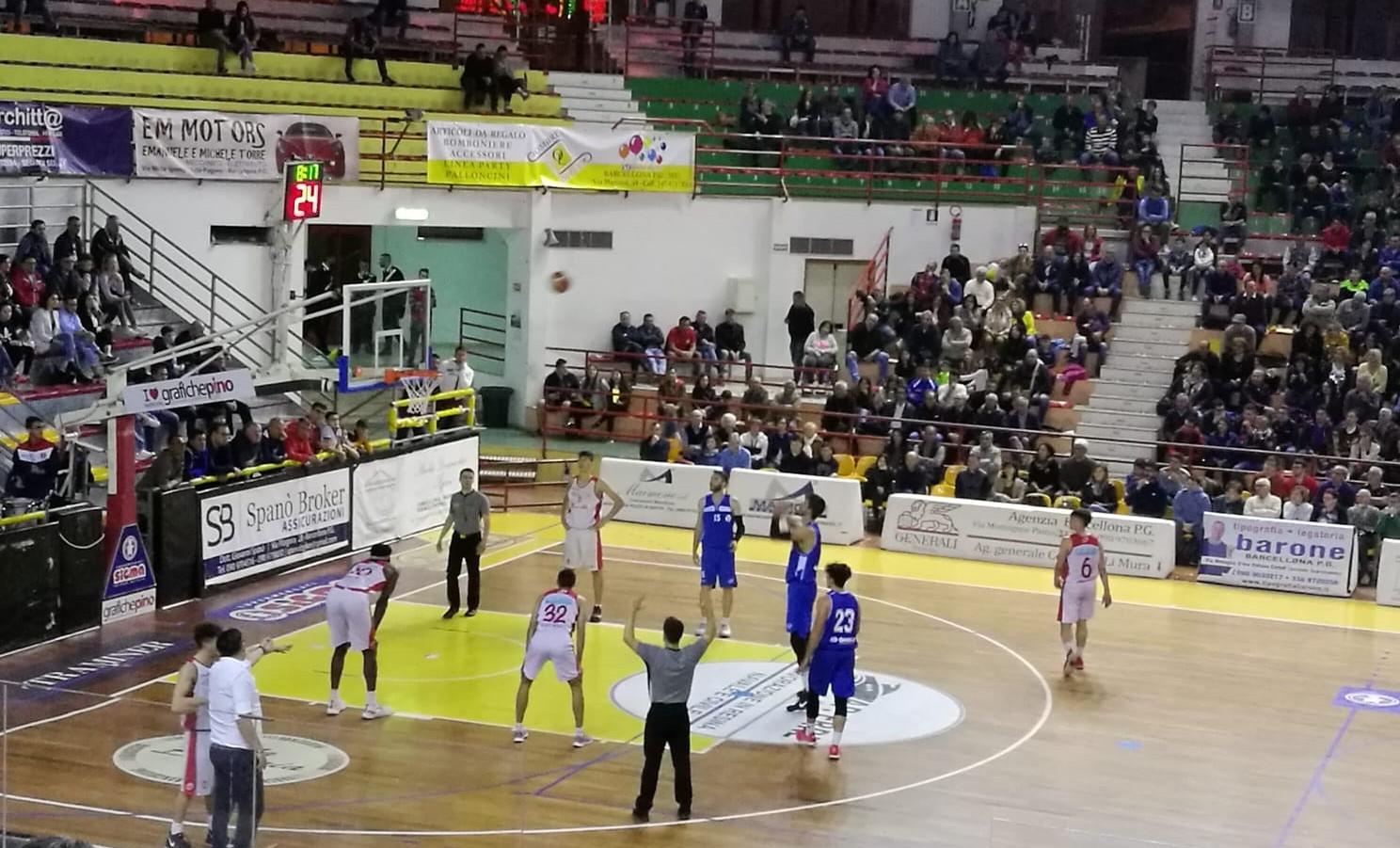 Basket, serie C silver: sfuma il sogno play off per la Virtus Ragusa battuta dal Barcellona