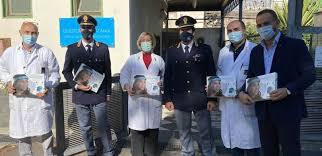 Azienda farmaceutica di Catania dona 1.500 visiere alla polizia di Stato