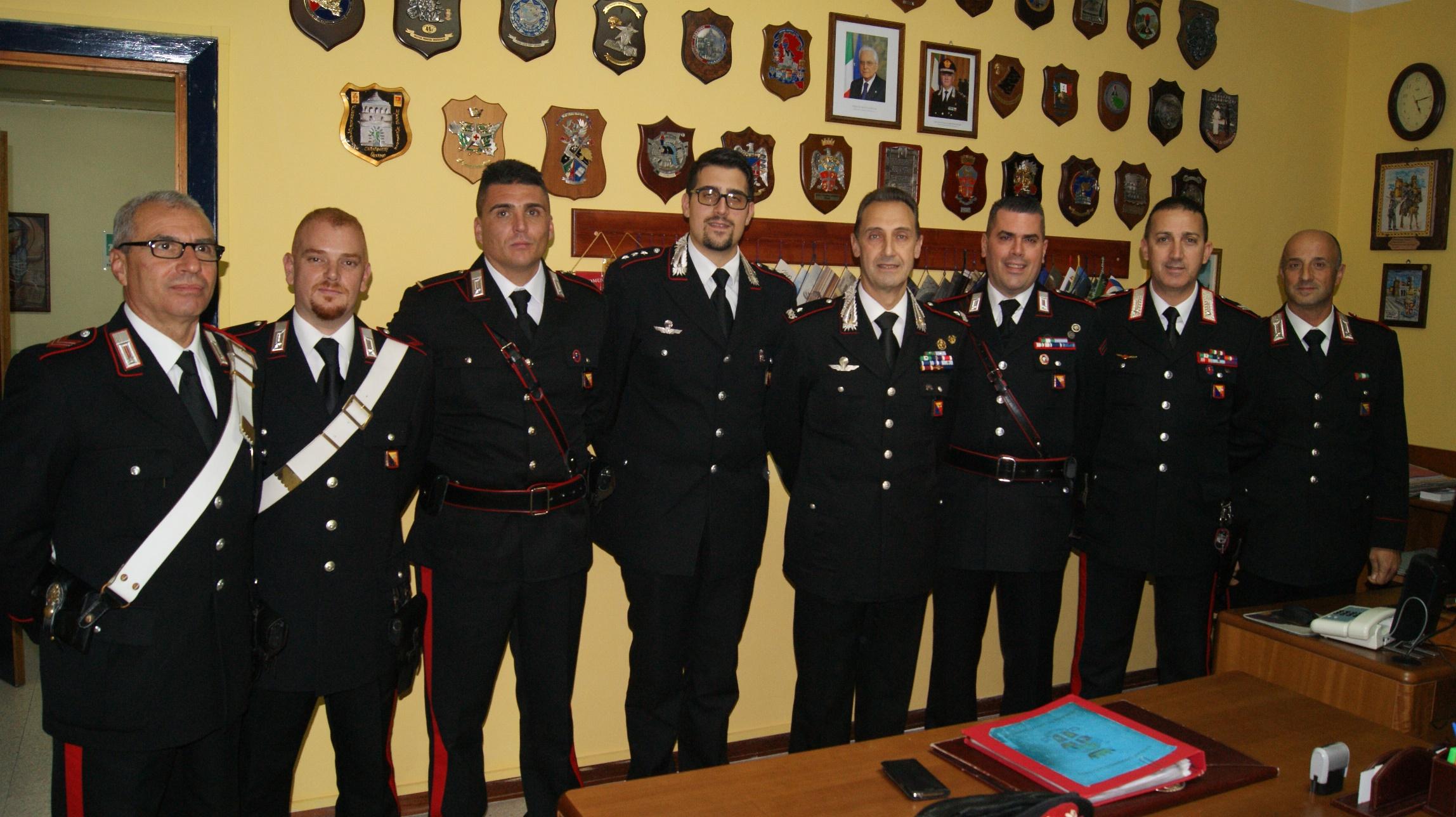 Siracusa, il generale Galletta in visita al Comando provinciale carabinieri