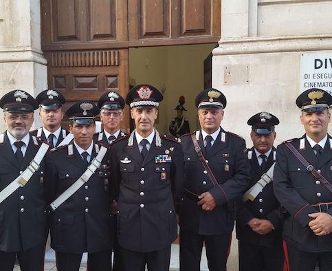 Il comandande della legione carabinieri Sicilia in visita a Siracusa