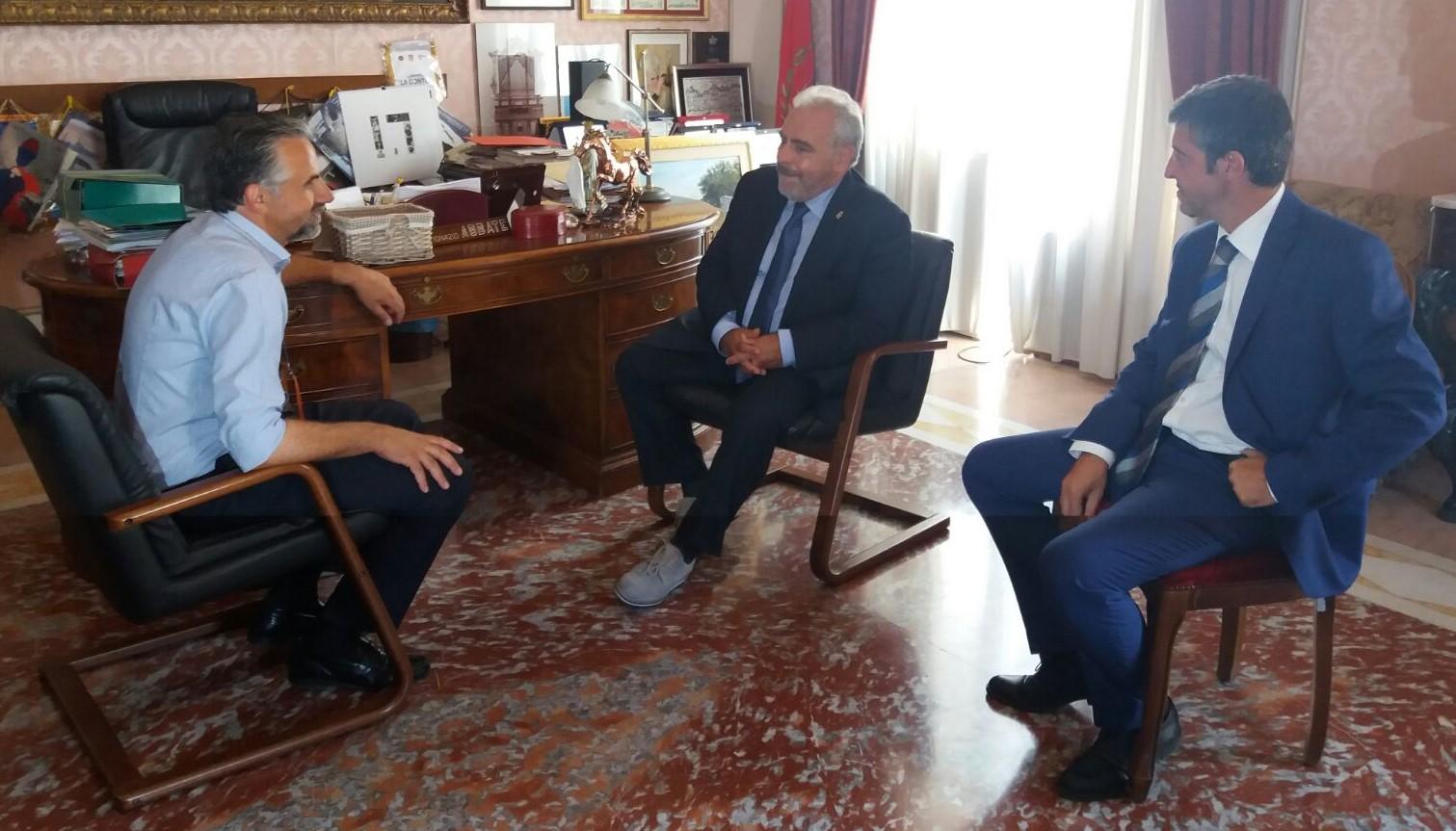 Modica, ricevuto dal sindaco il nuovo questore Salvatore La Rosa
