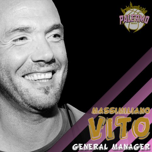 Basket Palermo, Massimiliano Vito è il nuovo general manager rosanero