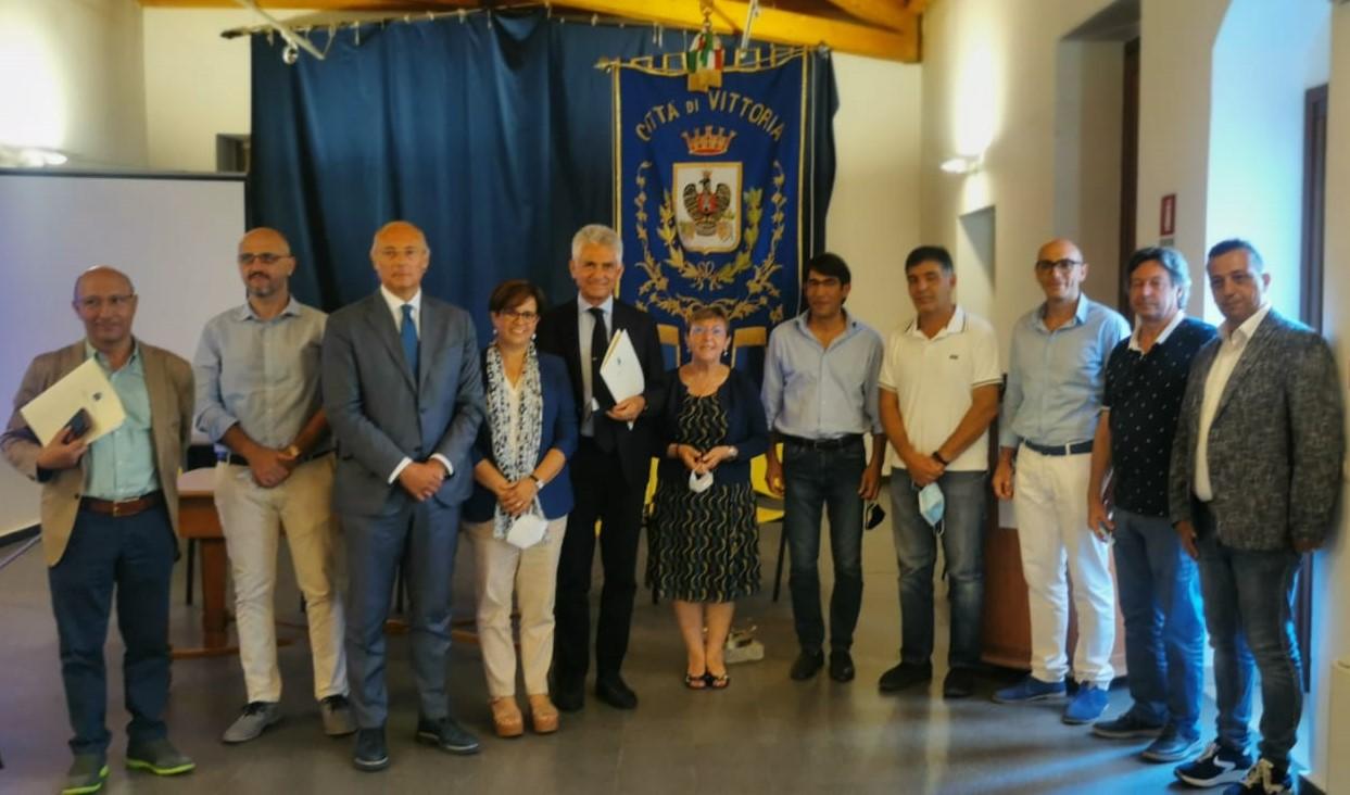 Vittoria, presentato al Comune il progetto di manutenzione della rete idrica
