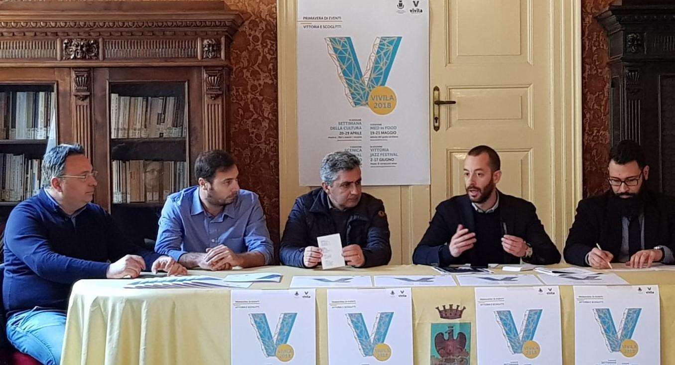 """Vittoria, cultura: presentato il calendario di eventi primaverili """"Vivila"""""""