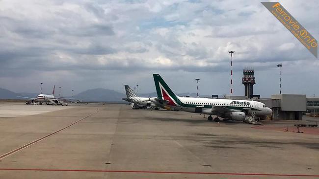 Temporale a Catania, due voli dirottati a Fontanarossa