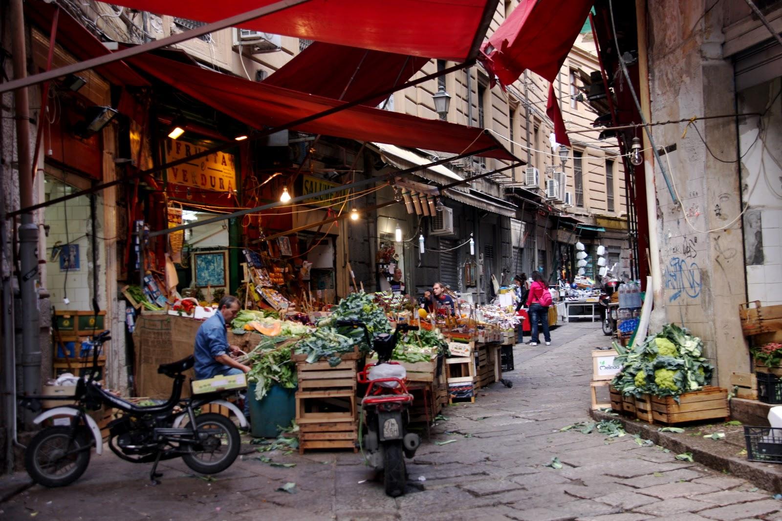 Il mercato della Vucciria di Palermo protagonista di una mostra fotografica