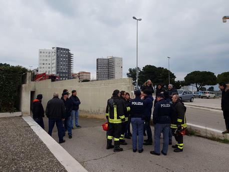 Incendi, a fuoco la sede del Giudice di Pace a Bari