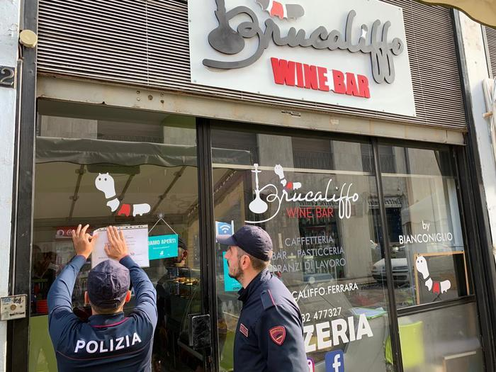 Sedicenne in coma etilico, la Questura di Ferrara chiude un bar