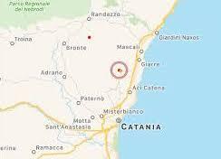 L'Ingv registra una scossa di terremoto 3.0 a Zafferana Etnea