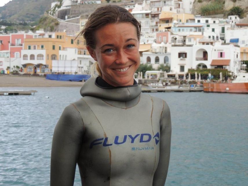 Apnea, a Milazzo record del mondo: Alessia Zecchini scende a 101 metri