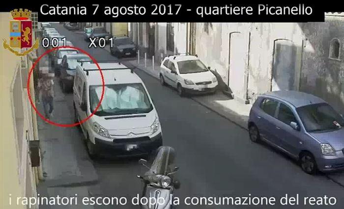 Catania, fecero i basisti per fare rapinare la zia ottantenne: presi
