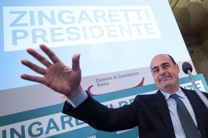 Zingaretti pronto a correre alle primarie del Pd