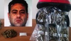Catania, 2 chili di marijuana nascosti in un bauletto: arrestato