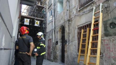 Palermo, crollo in una vecchia palazzina. Non ci sono feriti