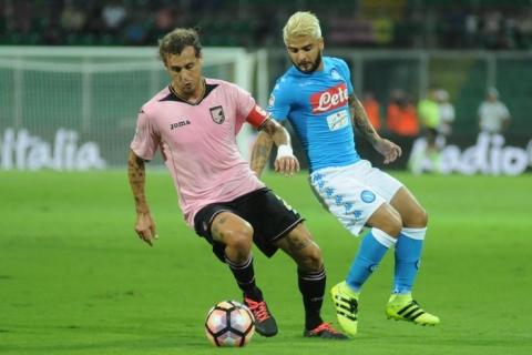 Palermo-Napoli 0-3: Hamsik-Callejon, gli azzurri rispondono alla Juventus