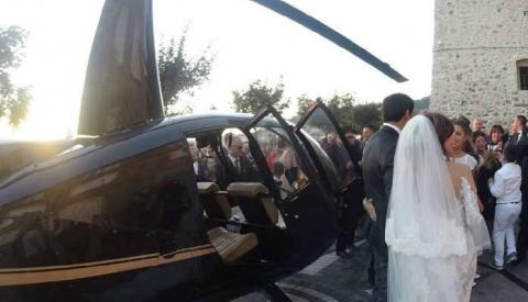 Matrimonio in elicottero, si dimette il Sindaco di Nicotera