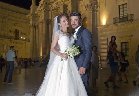Margareth Madè e Giuseppe Zeno, le nozze a Siracusa