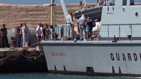 Nuovi arrivi a Lampedusa, sbarcati 86 migranti partiti dalla Libia