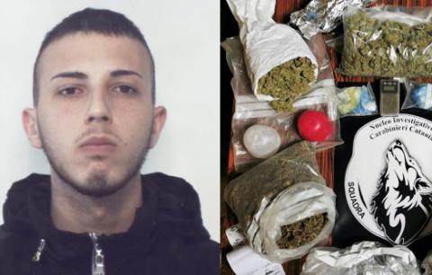Catania, blitz del 'lupi' a San Cristoforo: un arresto e 1,5 chili di marijuana