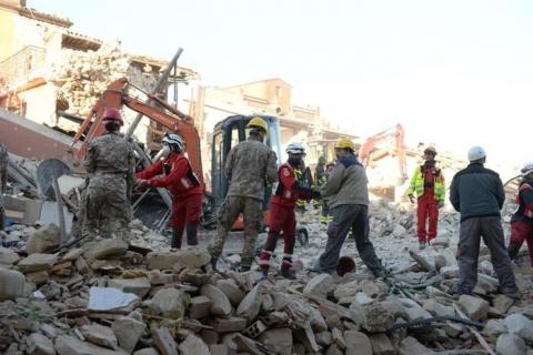 Terremoto in Centro Italia, nuova forte scossa: magnitudo 4.8