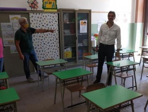 Avola, sopralluogo nelle scuole di Avola in vista del rientro a settembre