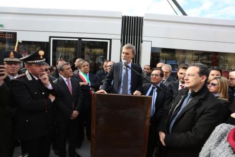 Una nuova #mobilità: a Palermo prende il via il tram!